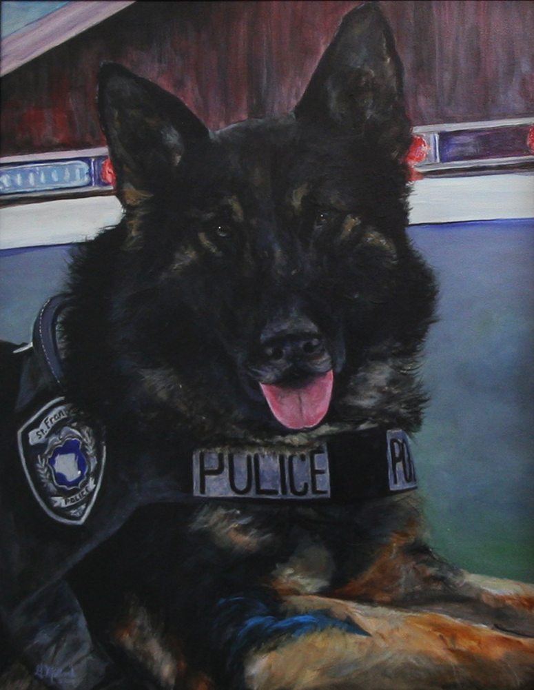 K9 Bane, Police Officer, St. Francis Police Department, Wisconsin