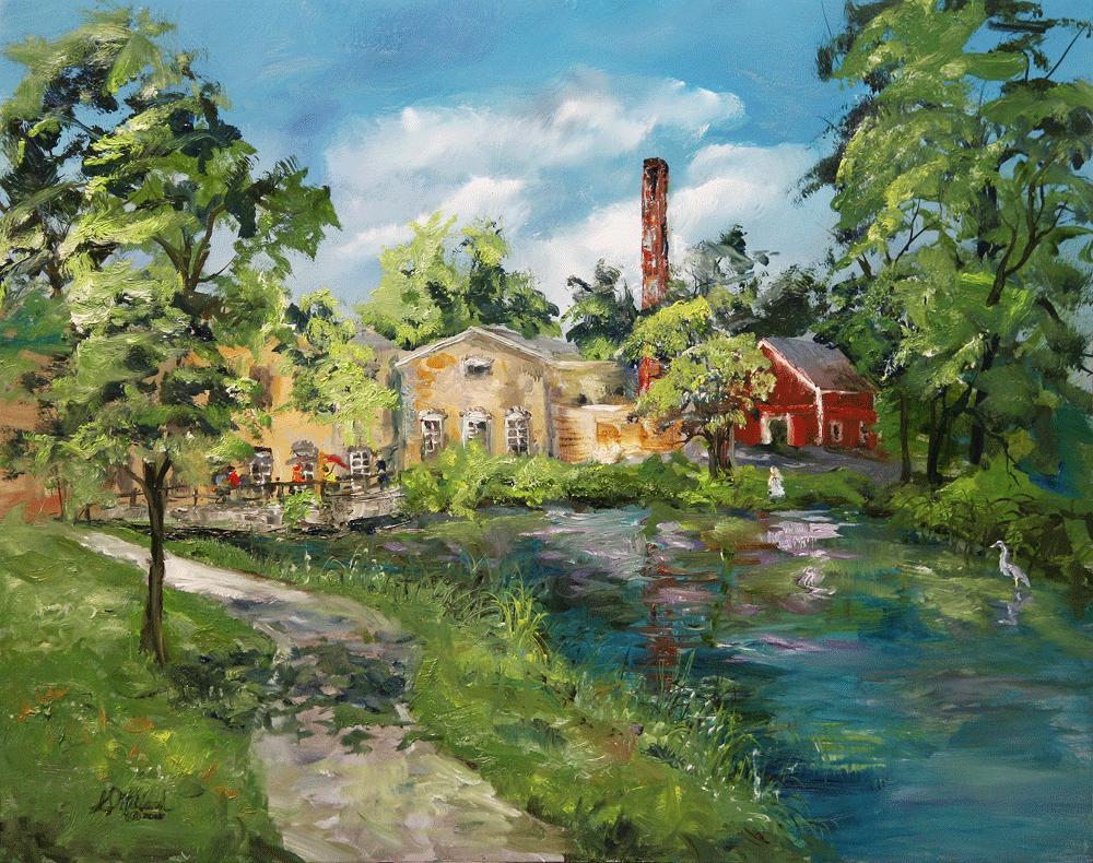 Boy Scout Park - View Across The River