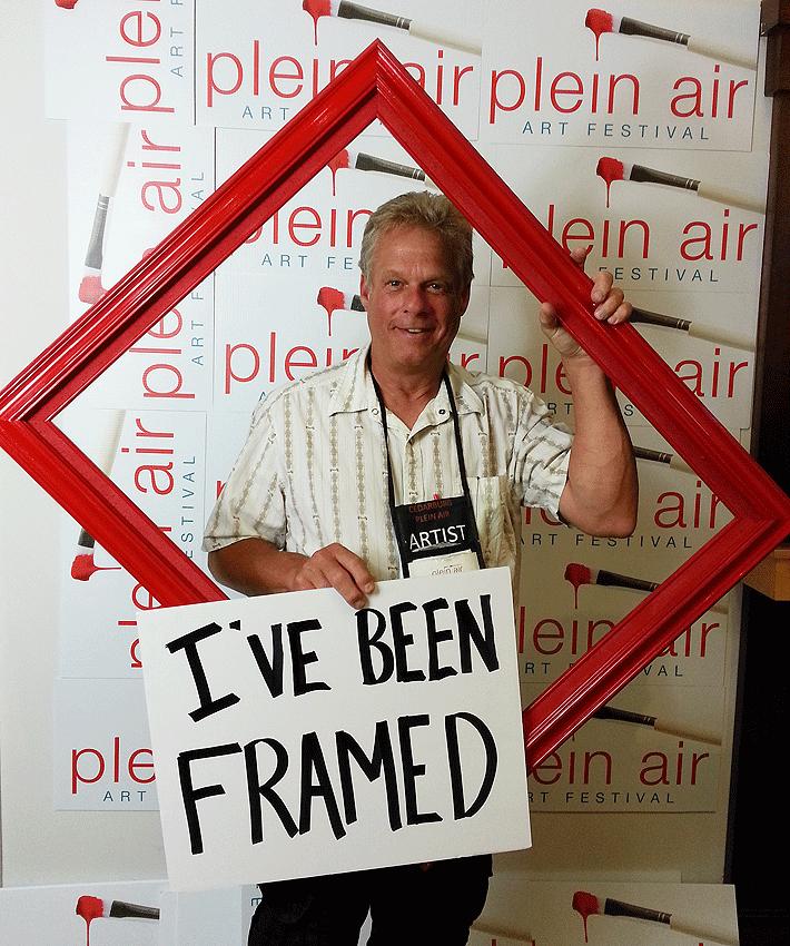 Fun and Games at Cedarburg Plein Air Competition 2015