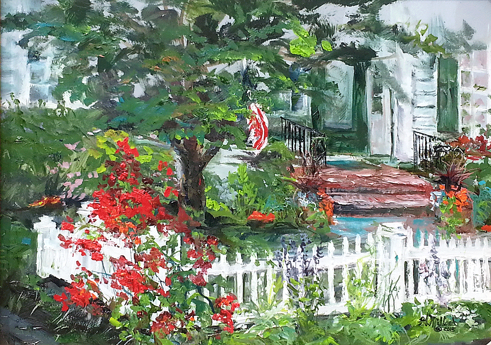 Maryanne's Front Yard - Cedarburg