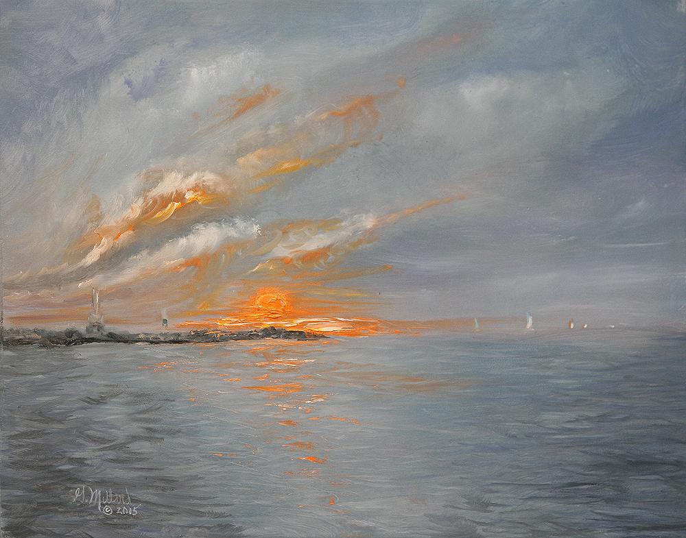 Port Washington Harbor Sunrise