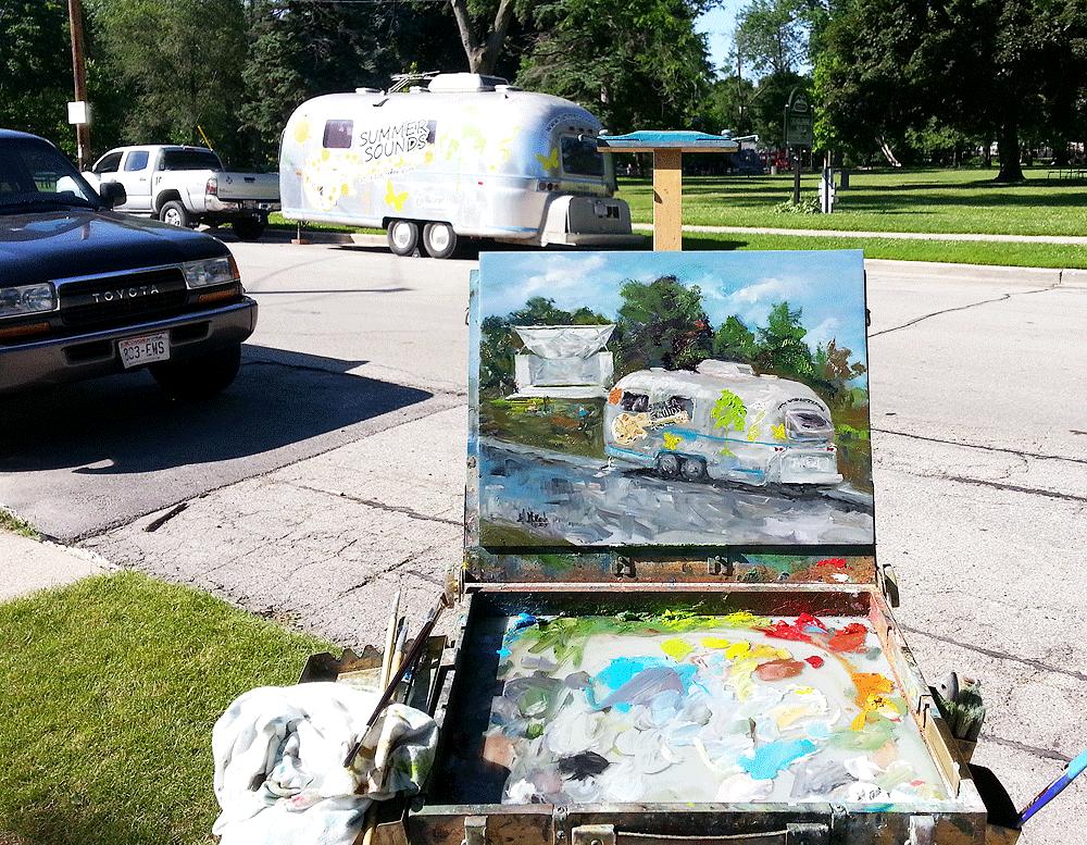 Summer Sounds Quick Paint