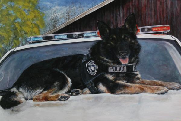 K9 Bane, Police Officer